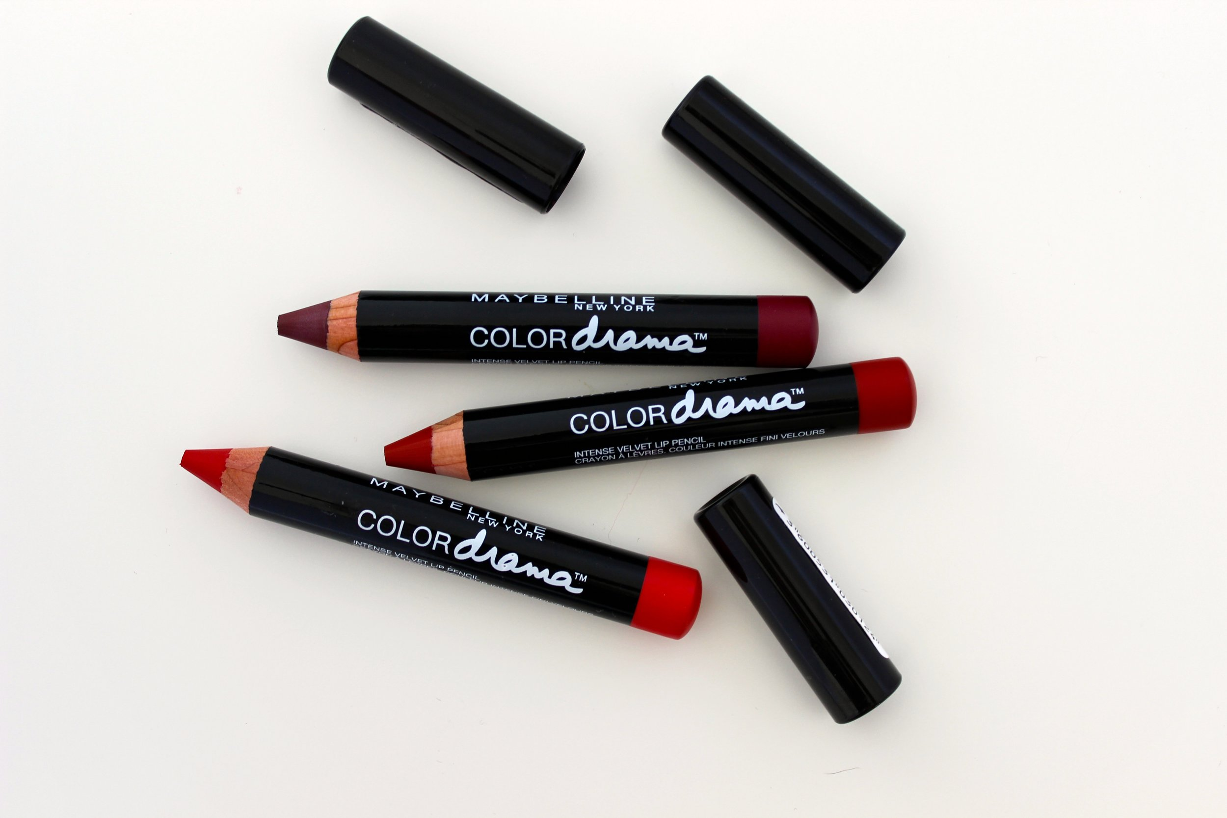 Maybelline Color Drama Lip Crayons