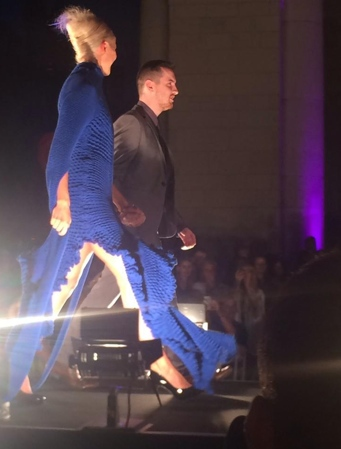 Ciaran Gormley winner of the Young Designer of the Year 2014 Show