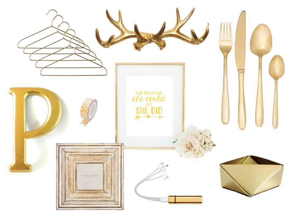 Gold Interior Accessories