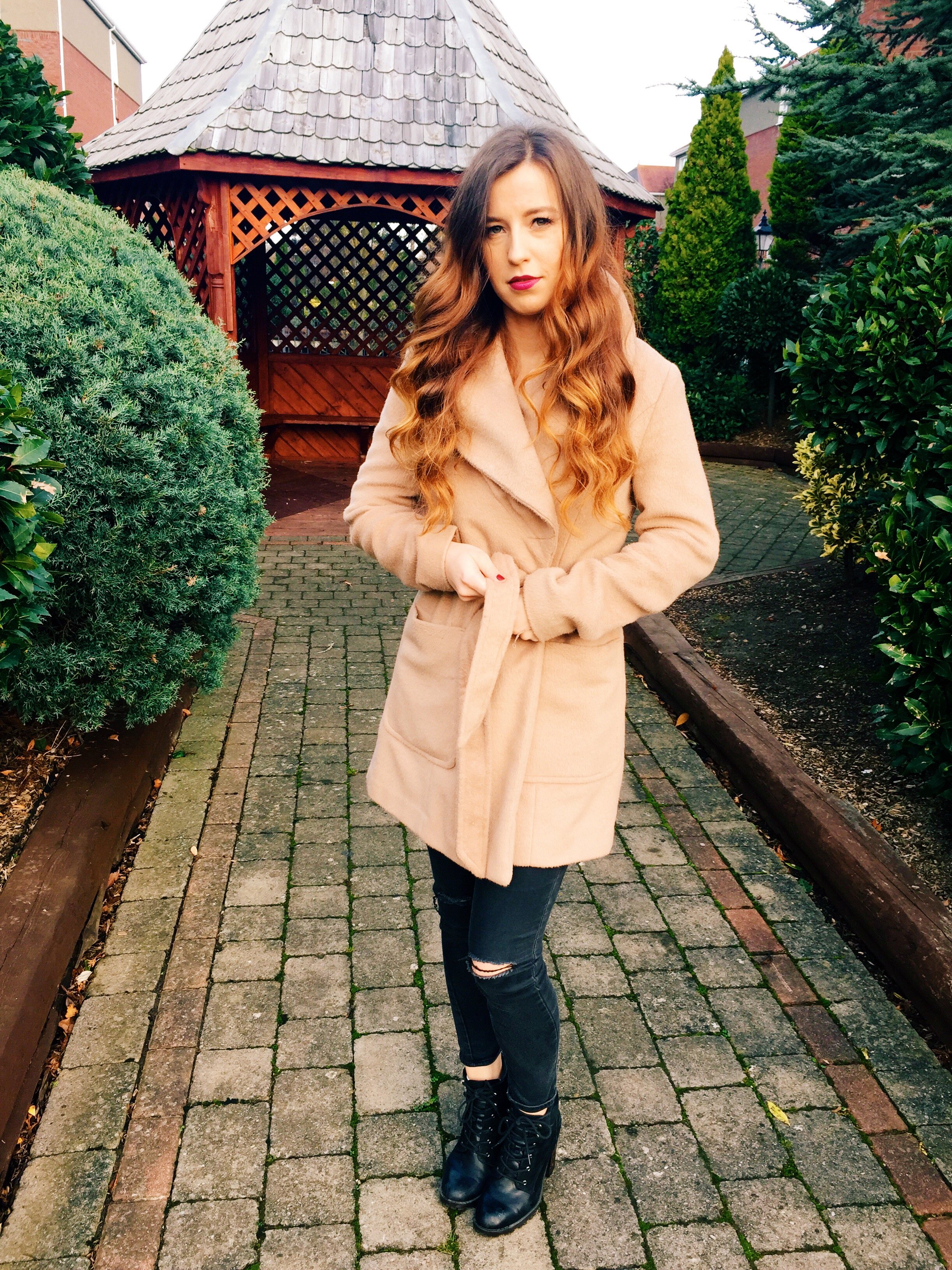 Camel Coat from Penneys / Primark