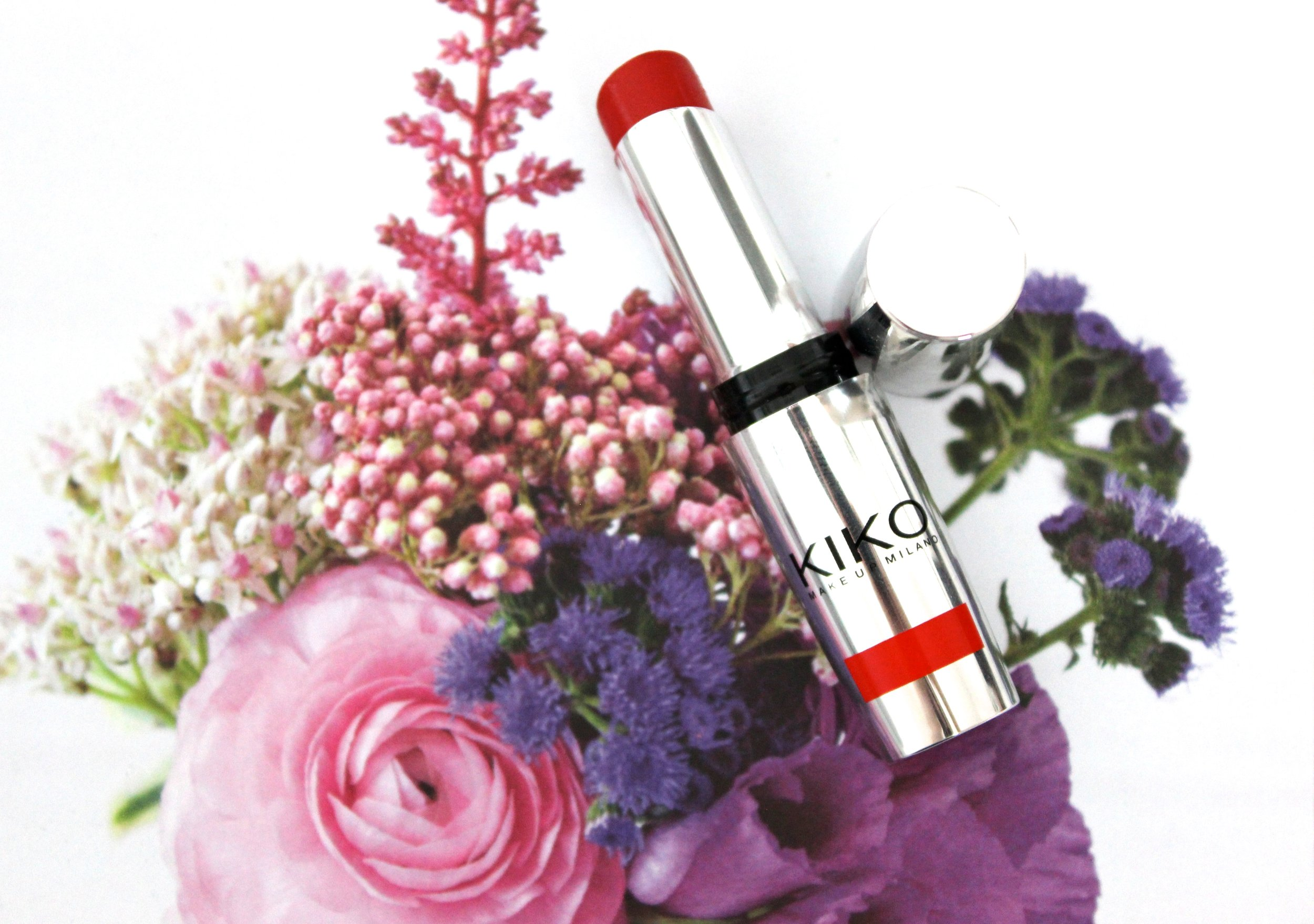 KIKO Poppy Red Lipstick