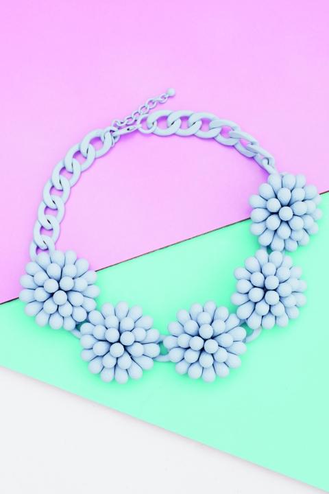 Penney's Spring Summer 2014 Floral Statement Necklace