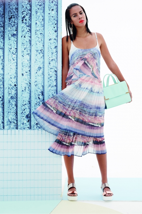 Penneys Spring Summer 2015 Pleated Dress