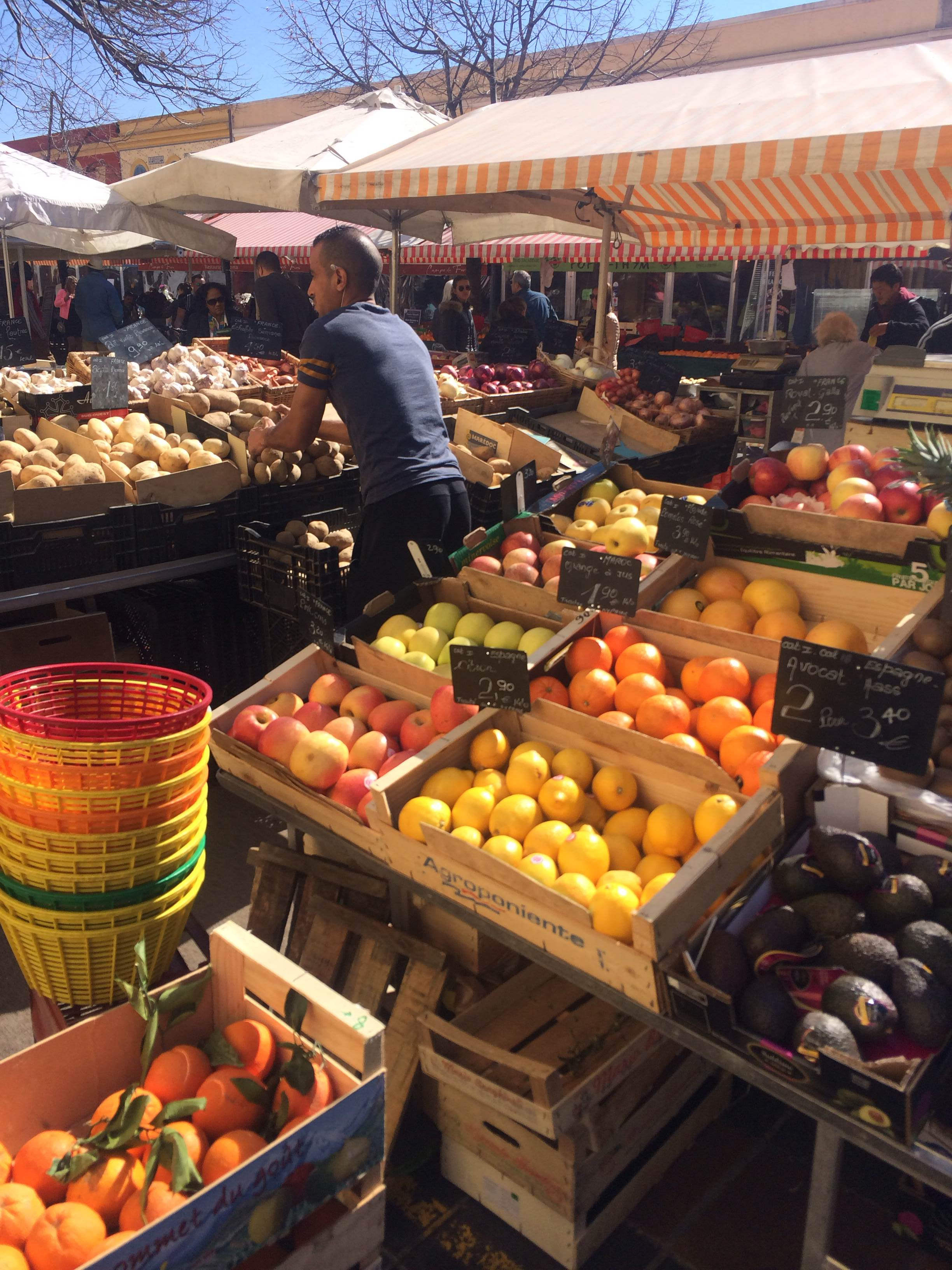 The Nice Flower Markets on Sundays
