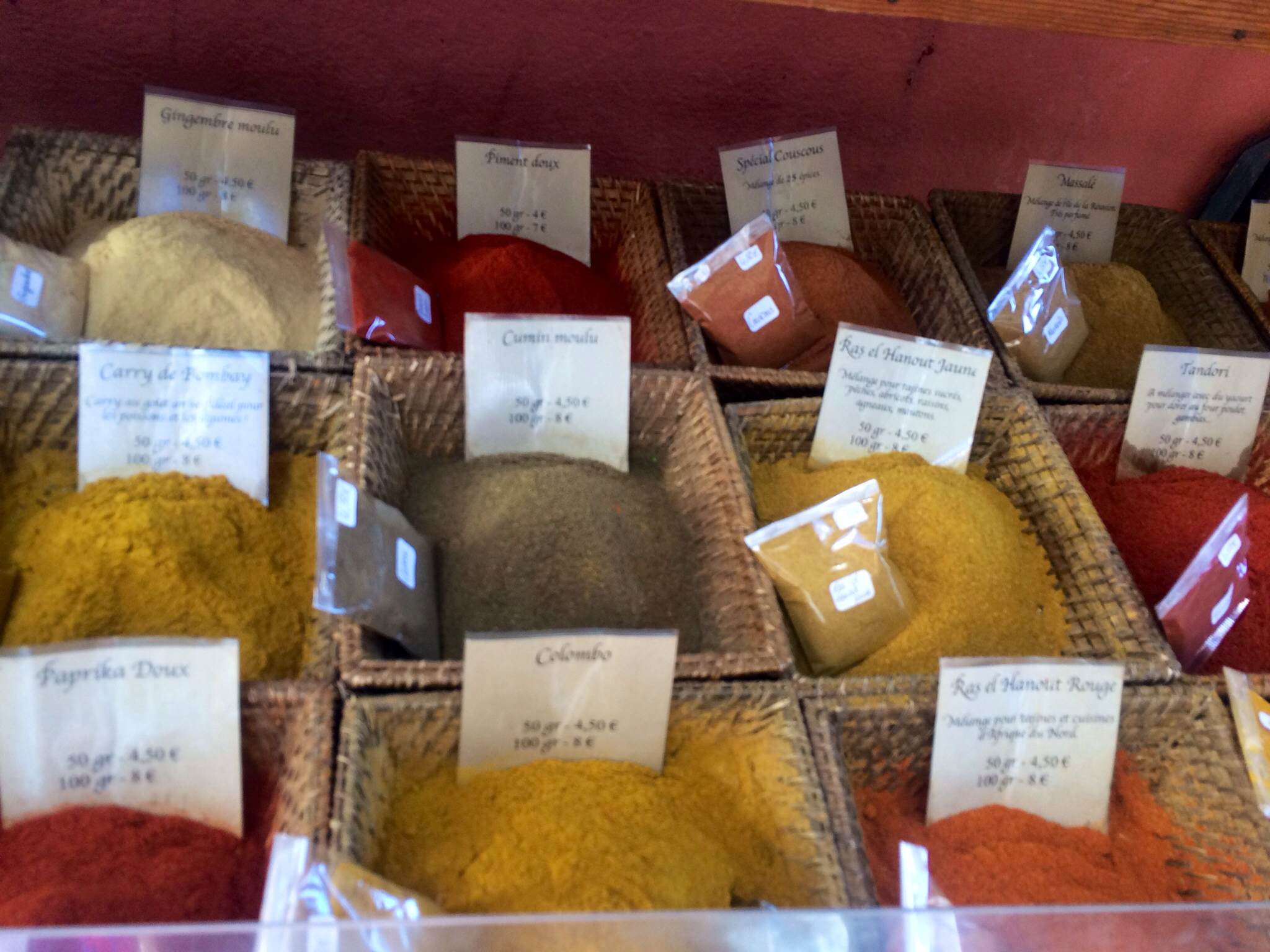 Spices at The Old Town