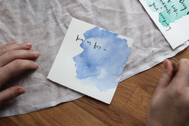 Watercolour Invitations: The Mother's Day Edit