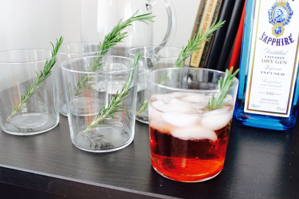 Cocktail Essentials: Rosemary Simple Syrup