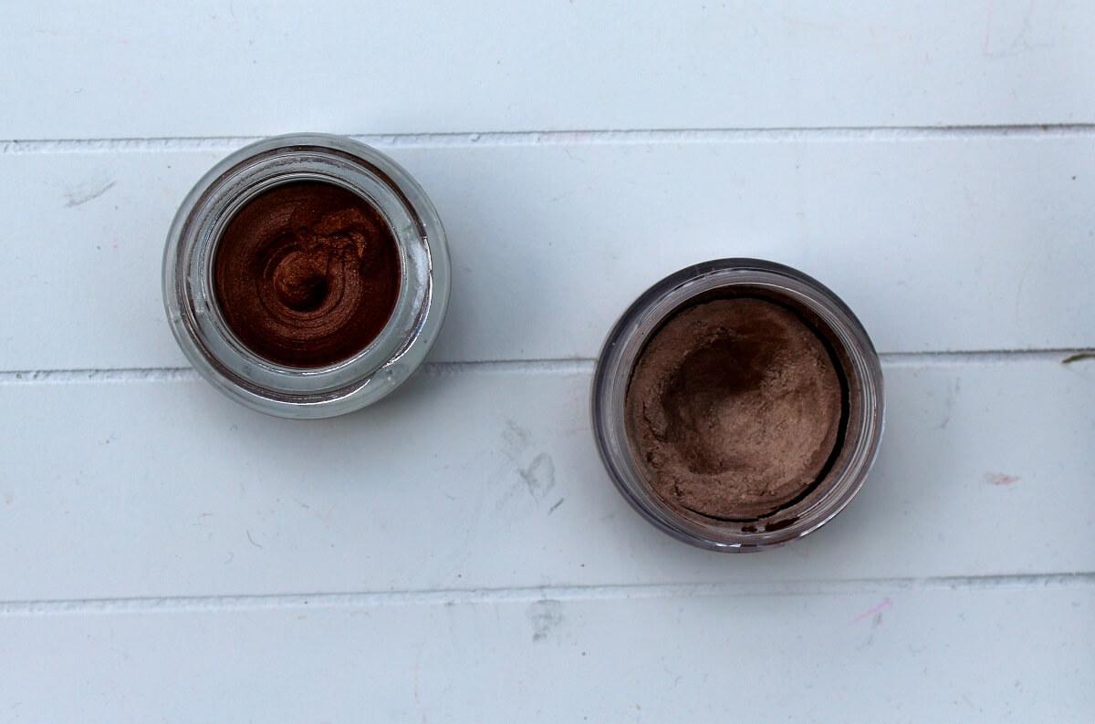 MUFE Aqua Cream V's Max Factor Excess Shimmer