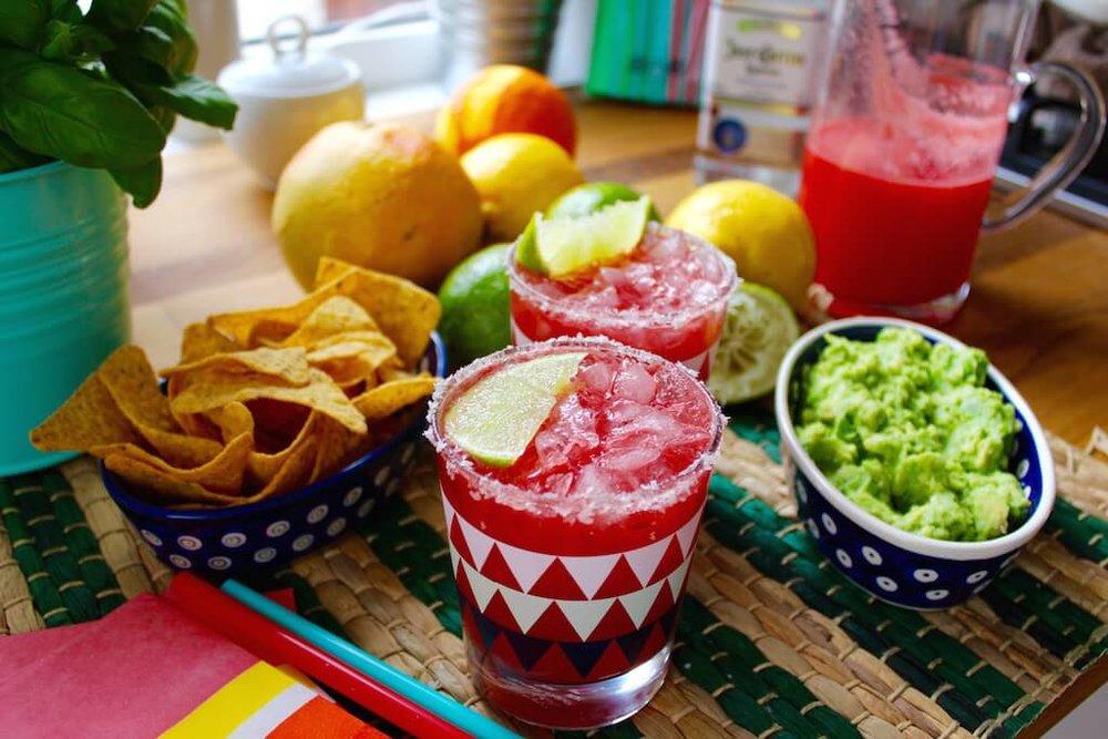 Cinco de Mayo Watermelon Margarita