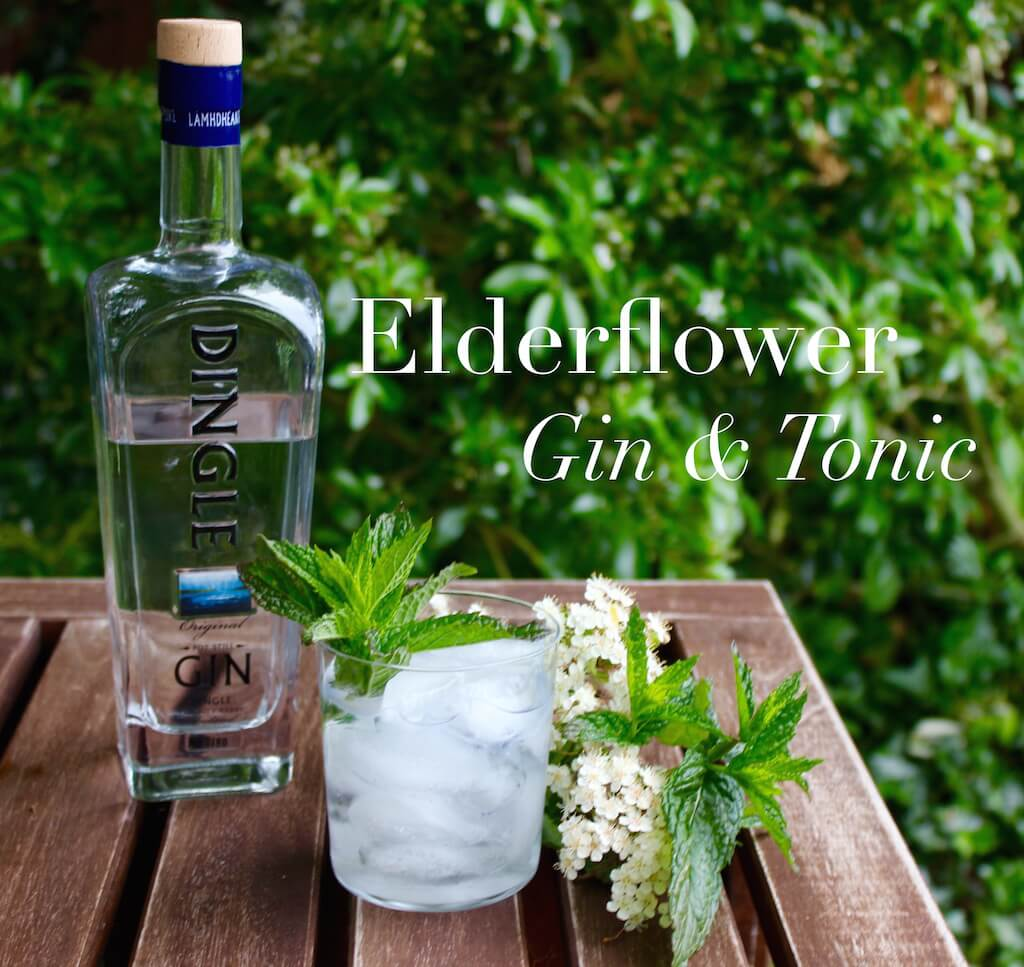 Summer Elderflower Gin & Tonic