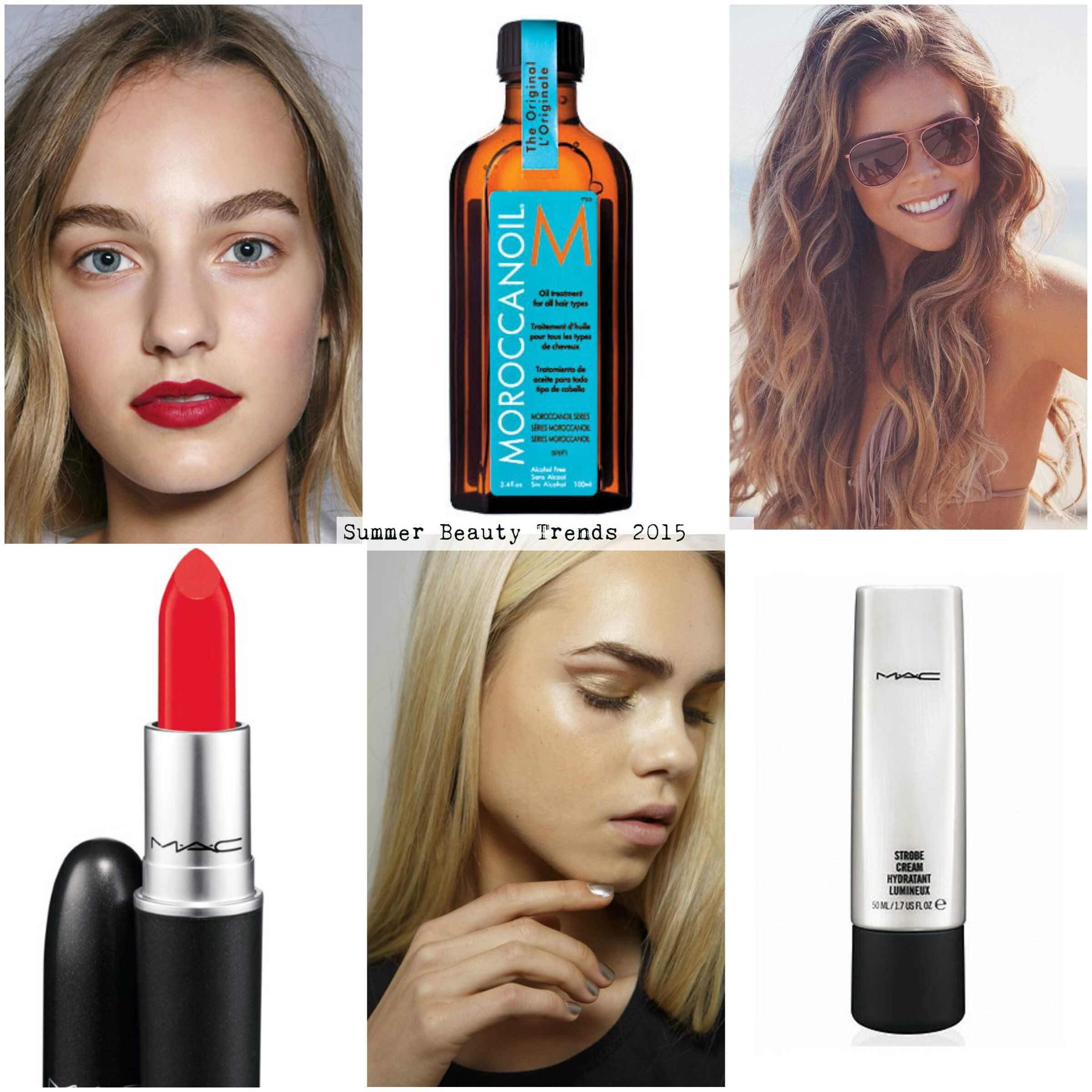 Summer Beauty Trends 2015