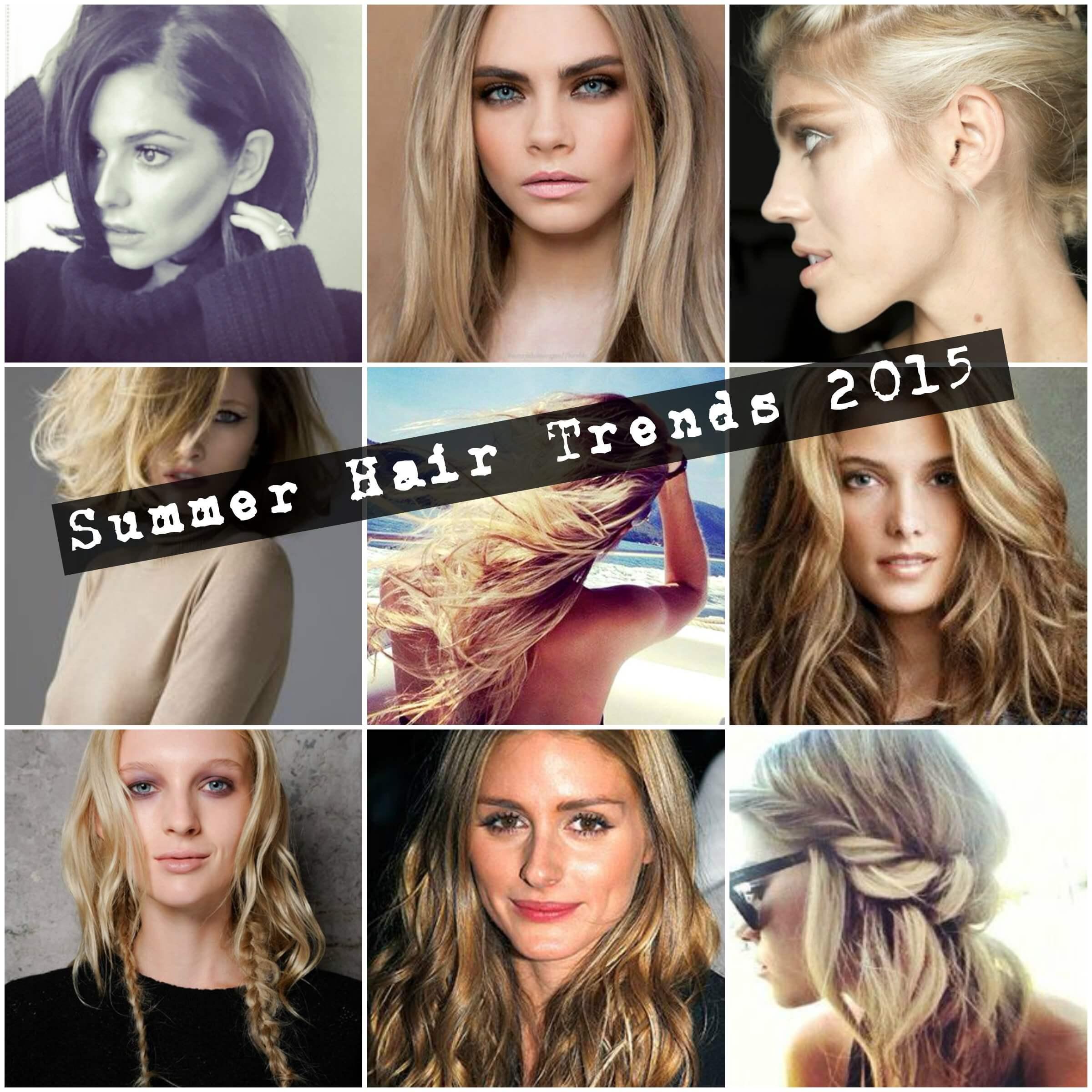 Summer Hair Trends 2015