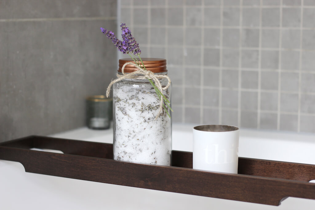 DIY Relaxing Lavender Bath Salts