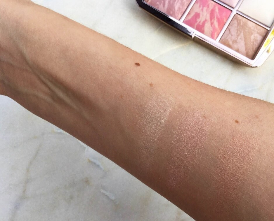 Hourglass edit highlighter swatches