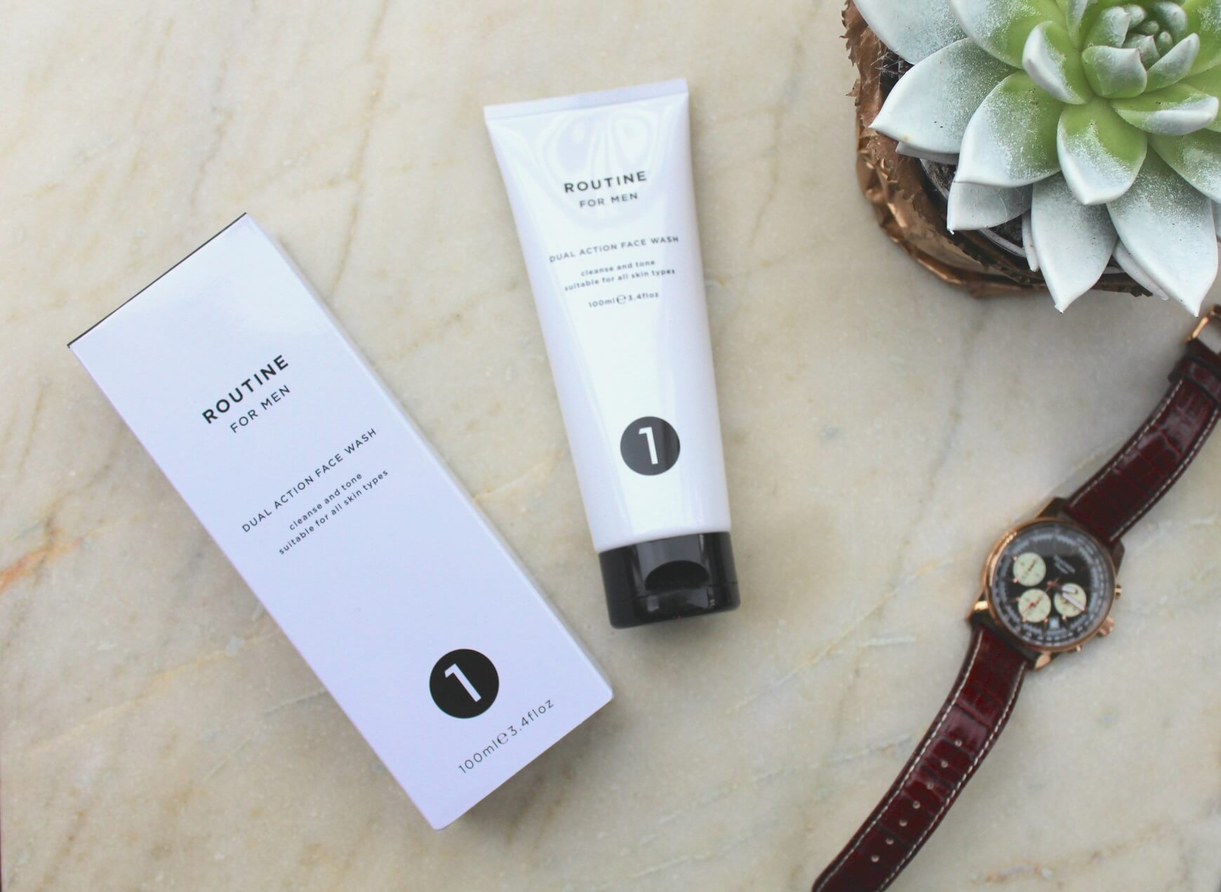 Pink Elephant Blog Mens Routine Cleanser