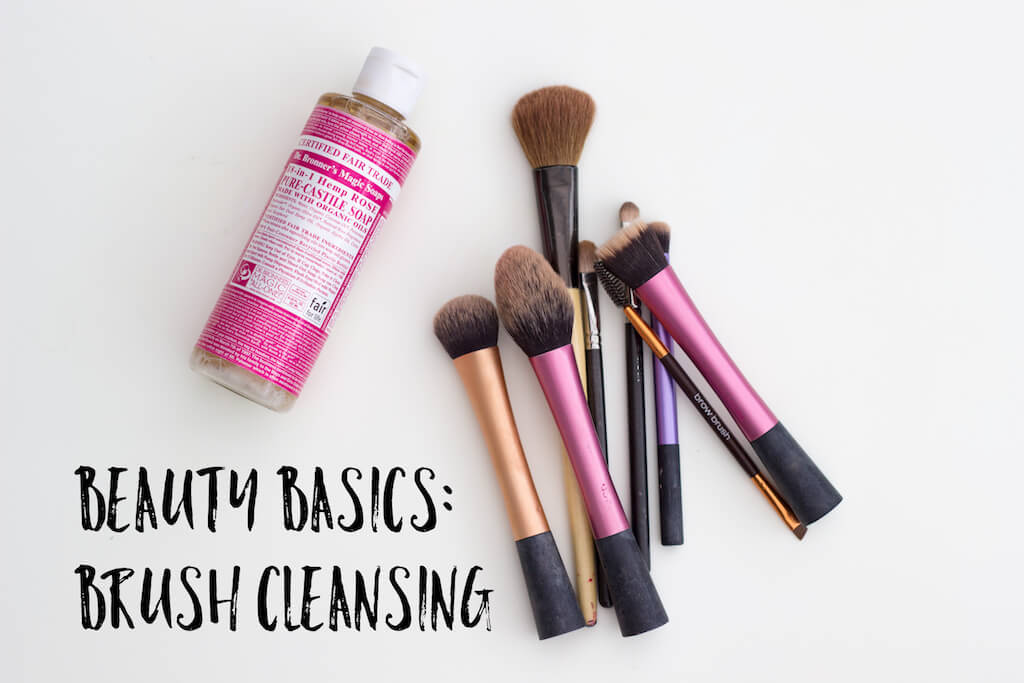 Beauty Basics: Brush Cleansing