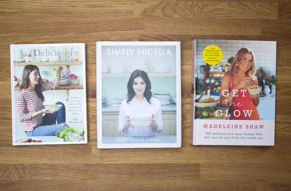 My Favourite Healthy Cookbooks