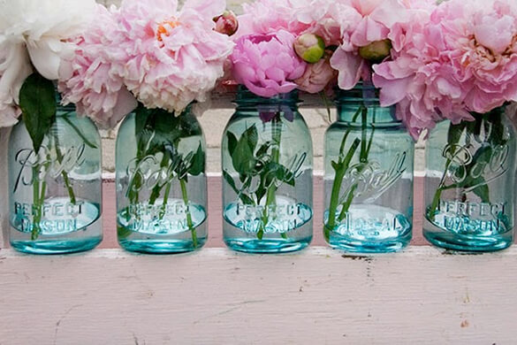 Seleciton of Mason Jars available from Etsy
