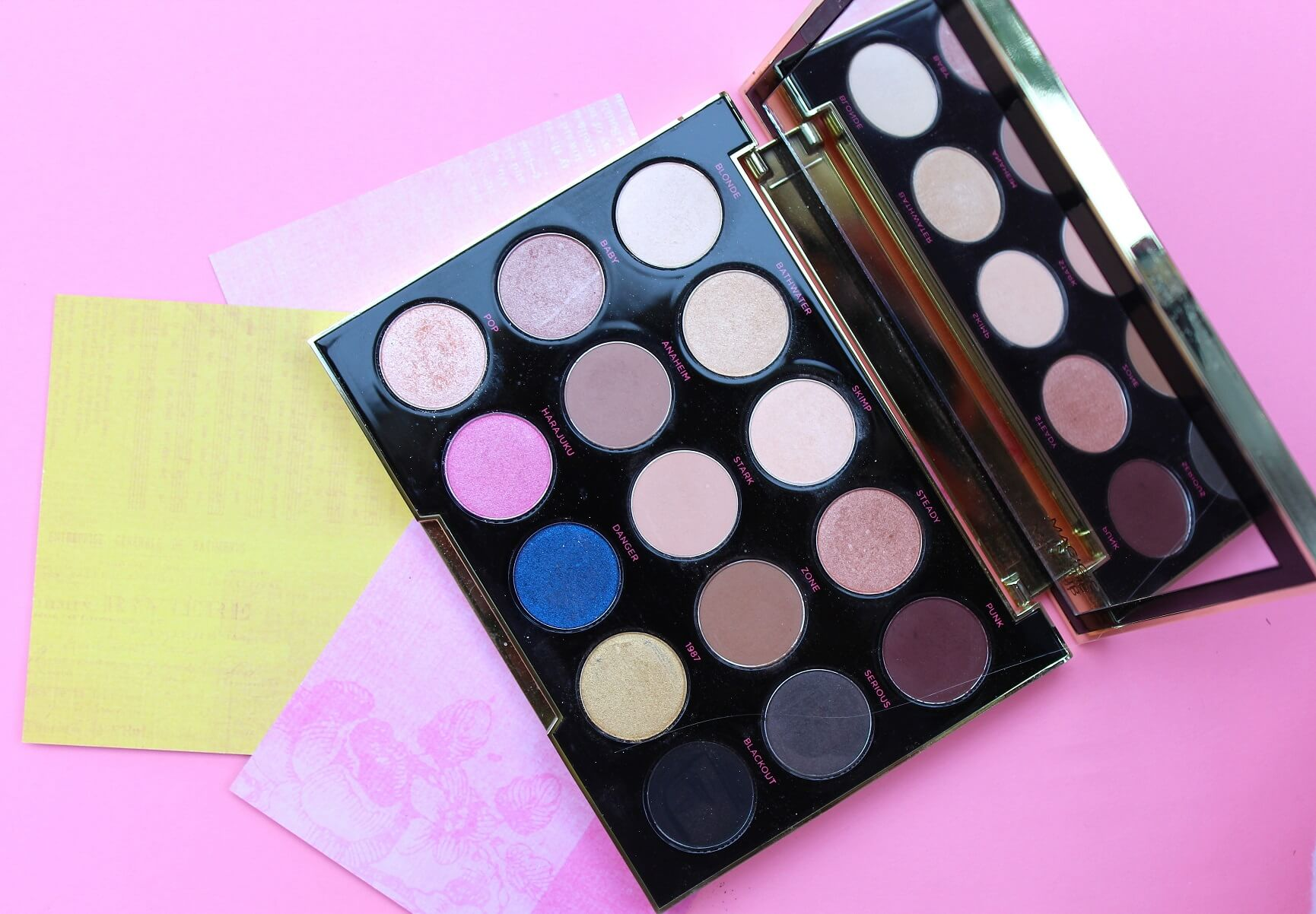 UD Gwen Stefani Pallette Review Pink Elephant Blog