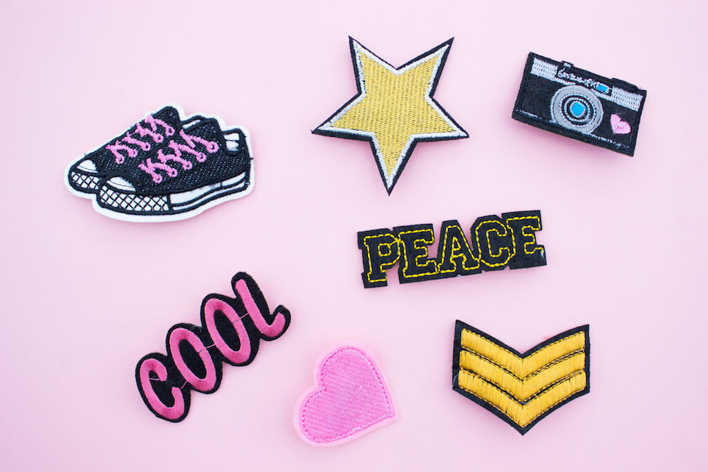 90's Style Throwback: Penneys Badges