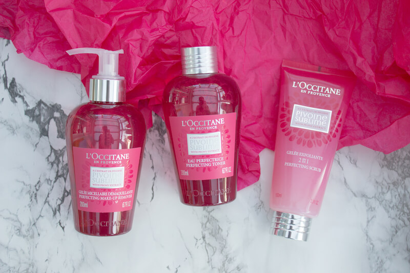 New In: Pivoine Sublime Skincare by L'Occitane | Pink Elephant Blog