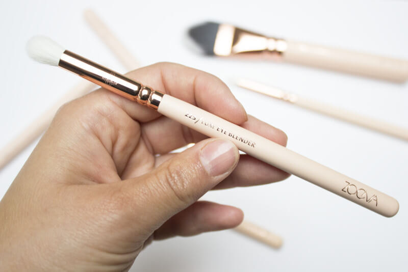 Zoeva Rose Gold Brushes | Pink Elephant Blog