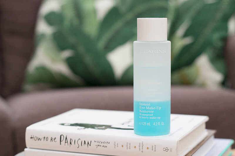 Clarins Instant Eye Makeup Remover |  Pink Elephant Blog