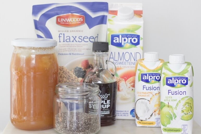 Healthy Alpro Dessert Smoothies Pink Elephant Blog