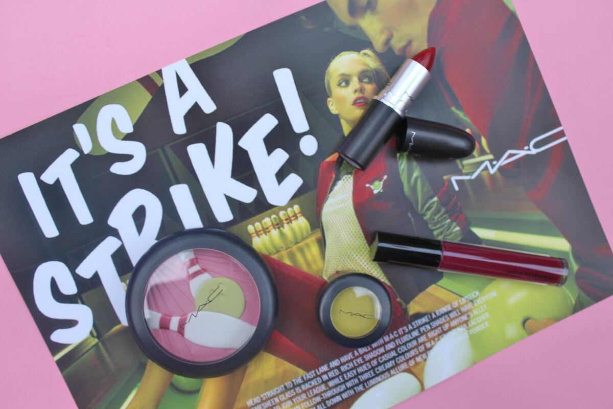 MAC It's A Strike makeup |  Pink Elephant Blog
