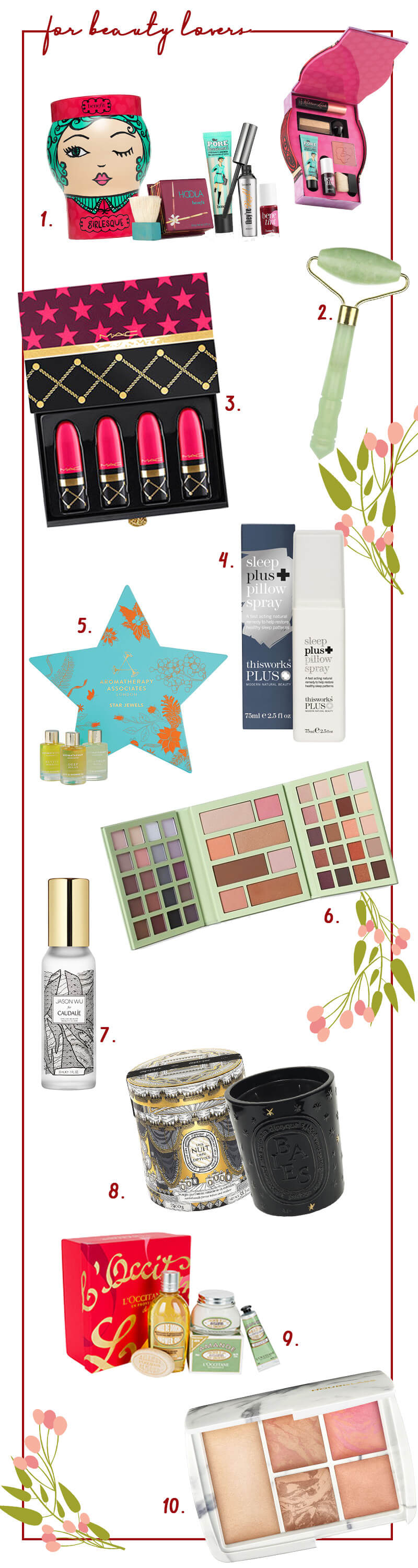 Christmas Gifts for... The Beauty Lover