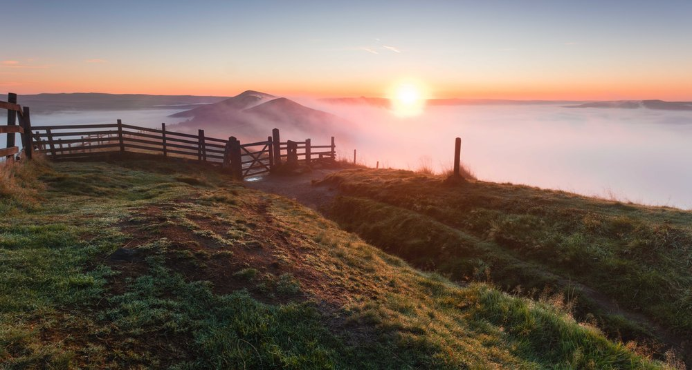 The Great Ridge, Derbyshire, UK