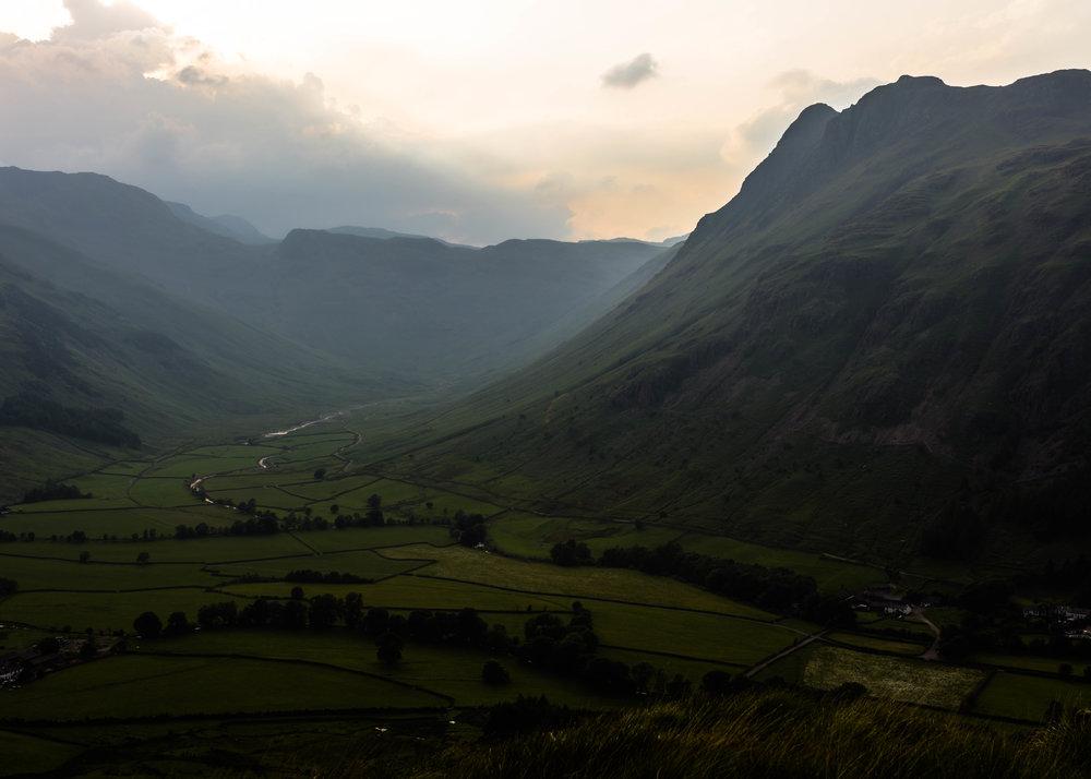 Mickleden Valley, Cumbria, UK