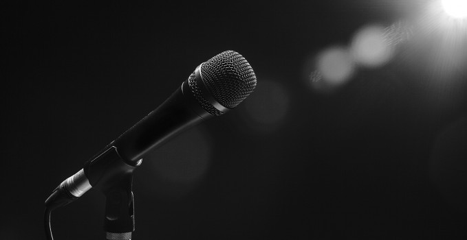 Open mic lead-up speakers audition -