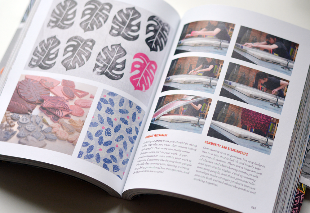 Print/Maker Skye McNeill