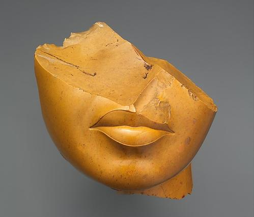 Fragment of a Queen's Face, Metropolitan Museum of Art,   http://www.metmuseum.org/art/collection/search/544514