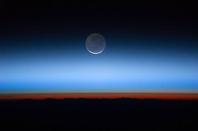 Photograph of the Earth's Moon, NASA.