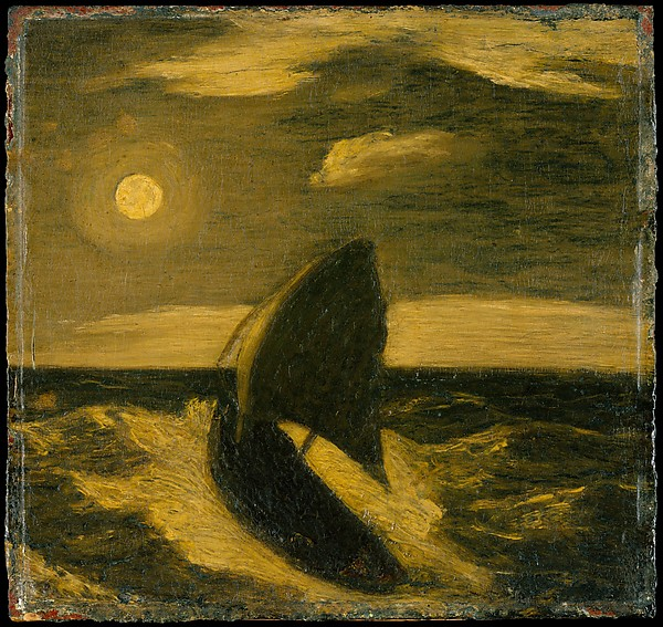 The Toilers of the Sea by Albert Pinkham Ryder