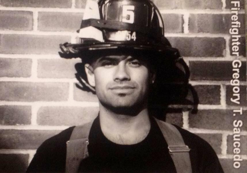 In memory of my friend, Firefighter Gregory Saucedo, FDNY.