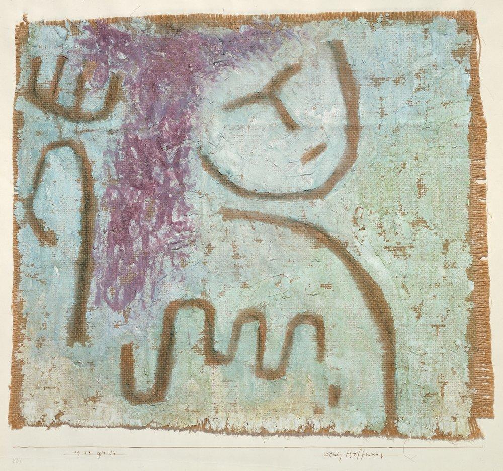 """Paul Klee, """"Little Hope"""", Metropolitan Museum of Art"""