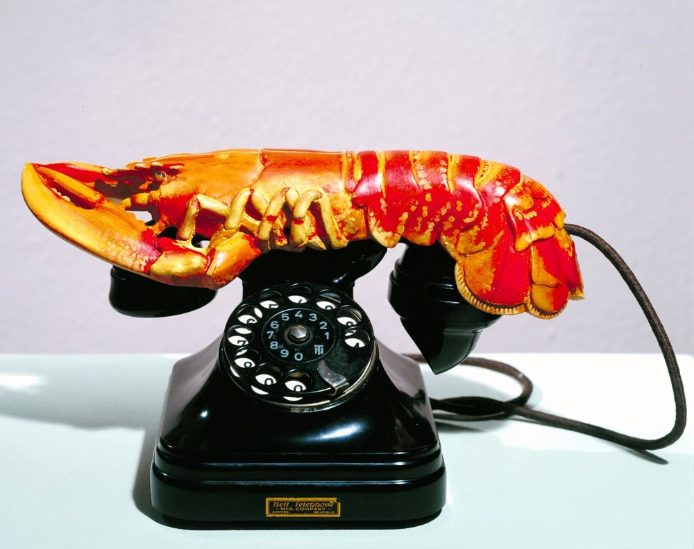 """Lobster Phone"" by Salvador Dali"