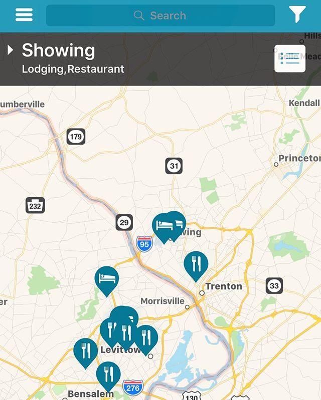 Traveling to #Philadelphia? Here is a snapshot of the restaurant and lodging locations with Military discounts in the area. Find restaurants and lodging locations with Military discounts along the East Coast by downloading urMuv for free on iTunes (link in bio)