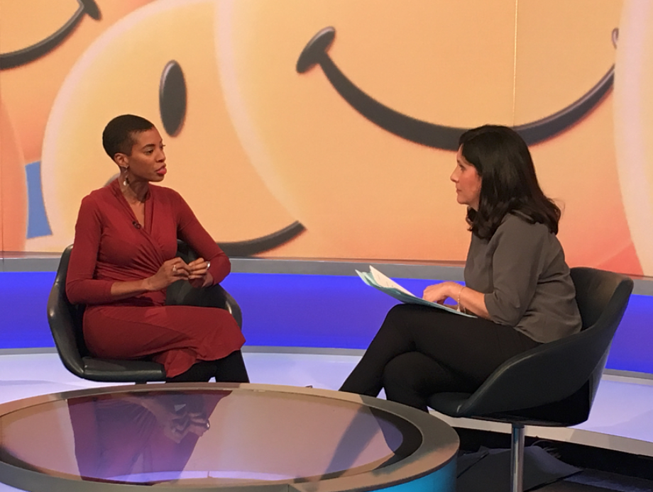 Talking with Maryam Moshiri on BBC Global Business Review about work happiness -