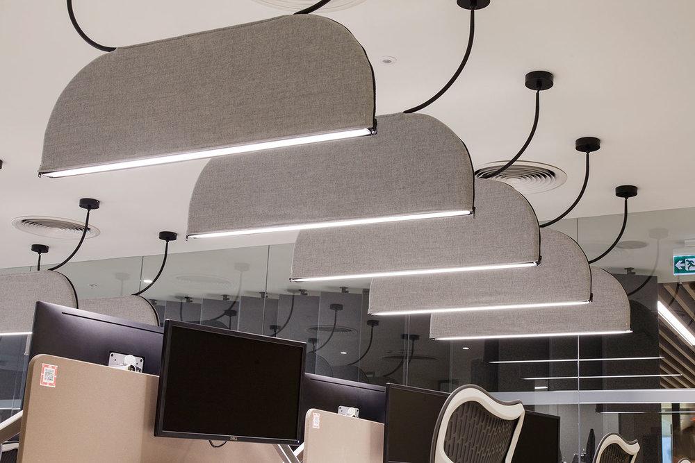 Block - Fixture: Block Pendant.Project: JLL - Jones Lang Lasalle Office Istanbul, Turkiet.Project design: Tetris Design & Build.Light Design: Dark Lighting.