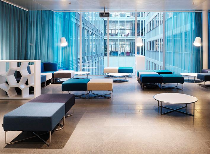 Hide - Fixture: HIde floor and pendant.Project: Keybroker, Stockholm.Architect: Note Design Studio.