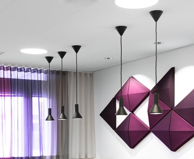 Par - Fixture: ParProject: Sandviks kontor/World Trade Center i Stockholm.Architect: Lomar Arkitekter.Light planner: Nora Högberg, ECO.Interior design: IK-arkitekter.