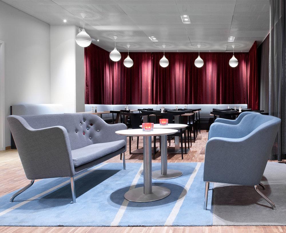 PXL - Fixture: PXL pendant.Project: Hotel Birger Jarl, Stockholm.Architect: Rosenbergs Arkitekter.Light planner: ÅF.