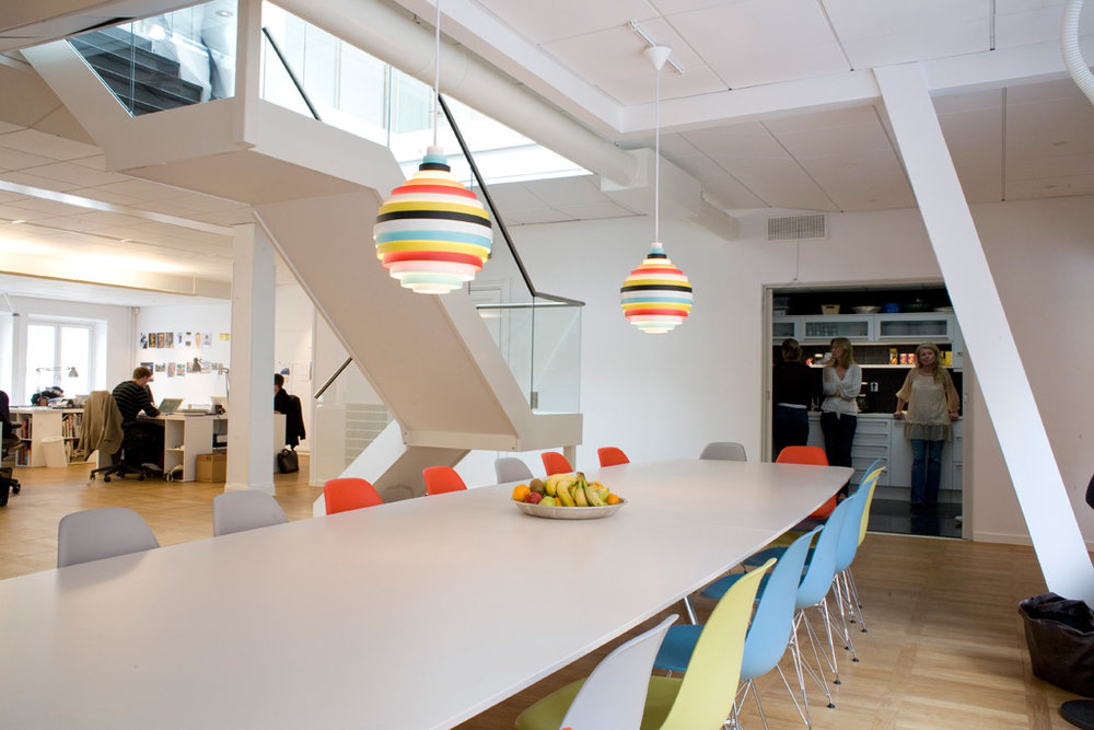 PXL - Fixture: PXL pendant.Project: Addvertising agency, Stockholm.