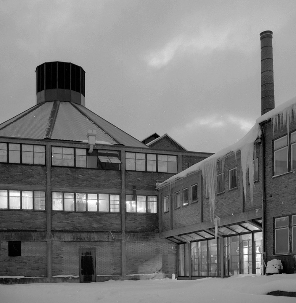 Head office, assembly and warehouse is based in south east Sweden in an old glass factory building.