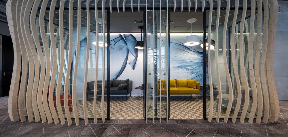 Beam - Project: GE Healthcare office, IsraelArchitect: Setter architects - Mrs. Bella Ventura.Lighting designer: MK - Mrs. Michal Kantor.Photografer: Mr. Uzi Porat.