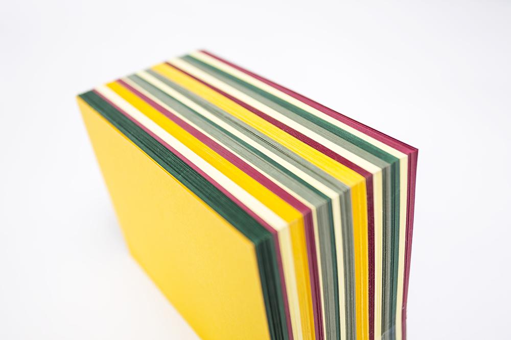 Paper block sample